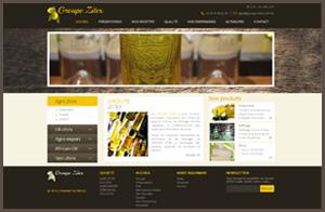 Site web dynamique GROUPE ZITEX Sfax